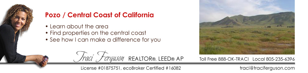 Pozo, Ranch, Realtor, Real Estate Agent, ecoBroker, land, Property, Find Agent