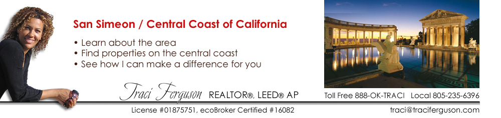 San Simeon, Realtor, Real Estate Agent, ecoBroker, Coastal, Property, Find Agent